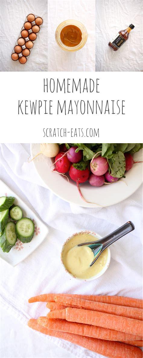 kewpie mayo kewpie mayonnaise scratch eats