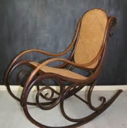 rare thonet bentwood rocking chair   antiques atlas
