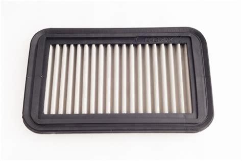 Ferrox Air Filters Mobil Kia Sorento 24l 2014 2015 baru ferrox air filter stainless steel 304 japan