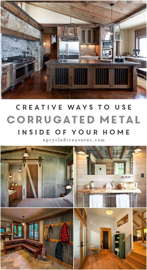 Decorating A Small Guest Bedroom - corrugated metal in interior design mountainmodernlife com