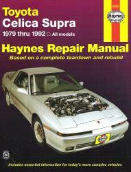 manual repair free 1993 toyota celica head up display 1979 1992 toyota celica supra haynes repair manual