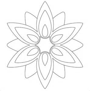Flower Paper Craft Template - 17 paper flower templates free pdf documents