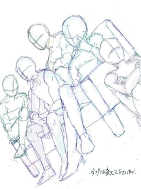 sketchbook terbaik 25 ide terbaik tentang poses di
