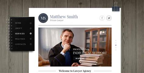 bootstrap themes lawyer private lawyer bootstrap website template theme gridgum