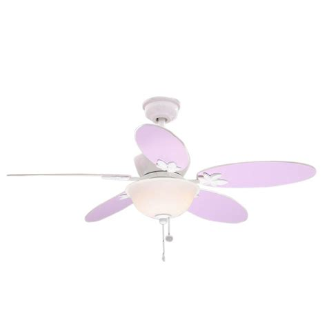 pink and white ceiling fan white ceiling fans lighting the home depot