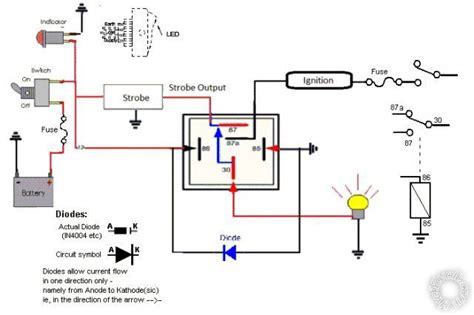drl relay wiring wiring diagram schemes