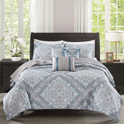 what is a coverlet set madison park josephine 6 piece coverlet set ebay