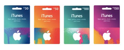 Apple Gift Cards - good news for apple fans itunes gift cards now available in singapore