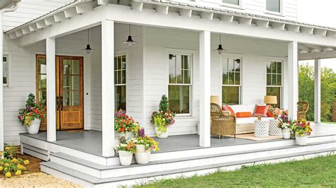 Before And After Porch Makeovers That You Need To See To House Plans With Porch And Big Kitchen