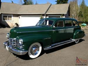 1949 Cadillac Series 75 Limousine For Sale 1949 Cadillac 75 Series Limo