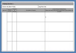 Session Plan Template pin session plan template pdf on