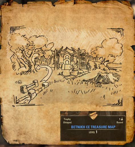 deshaan ce treasure map 100 deshaan ce treasure map elder scrolls auridon treasure map i location