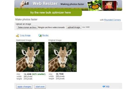 optimizar imagenes web online web resizer fant 225 stica utilidad web para optimizar im 225 genes