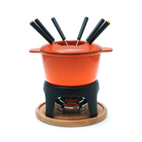 swissmar sierra meat cheese fondue set orange on sale free shipping us48
