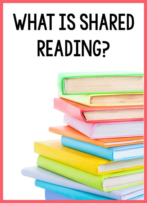what is the what is shared reading learning at the primary pond