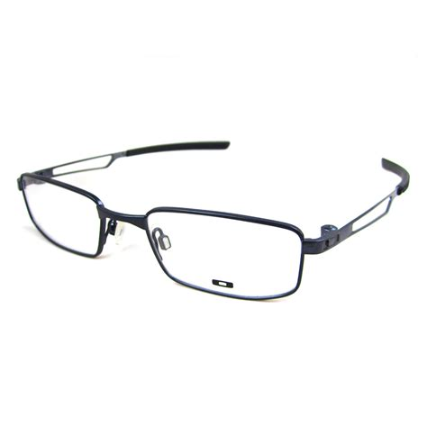 oakley rx glasses frames collar 310104 polished midnight