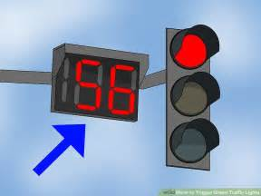 traffic light 3 ways to trigger green traffic lights wikihow