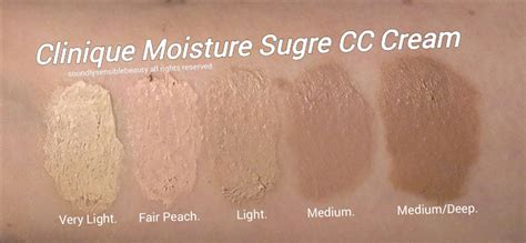 A Surge Of Colour For The by Clinique Cc Moisture Surge Hydrating Color Corrector