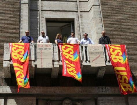 sede inps roma centro foto l inps chiude la sede storica protesta a piazza