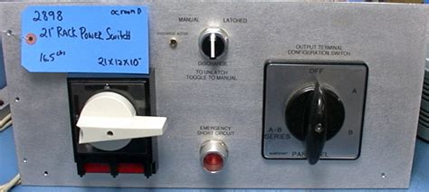 Salzer Plumbing by Salzer Entrelec Rotary Power Switch Panel S213 895