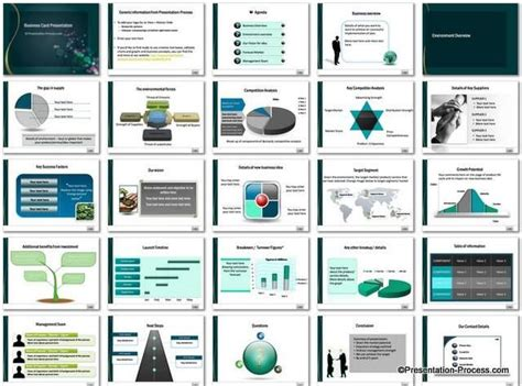 business card template powerpoint free business card powerpoint templates free business plan