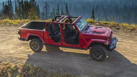 2020 Jeep Gladiator Engine by 2020 Jeep Gladiator Review Price Specs News Release