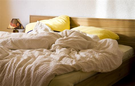 unmade bed good news for the untidy unmade beds may be good for you
