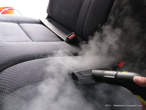 Steam Clean Car Upholstery by Car Steam Cleaning Car Cleaning