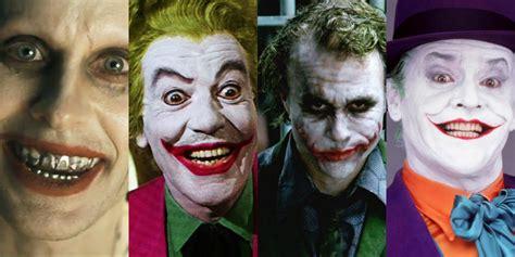 best joker who is the best joker of all time screenrant