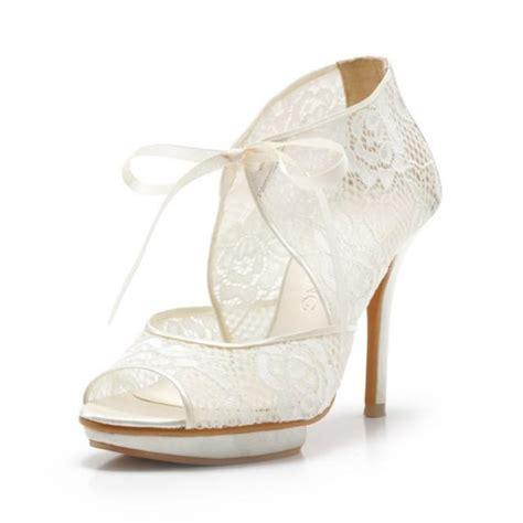 custom made wedding shoes custom made ivory lace wedding ankle boots custom made