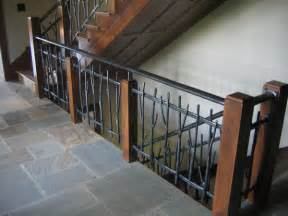 Metal Banister by Metal Steel Iron Railings Ornamental Ironwork