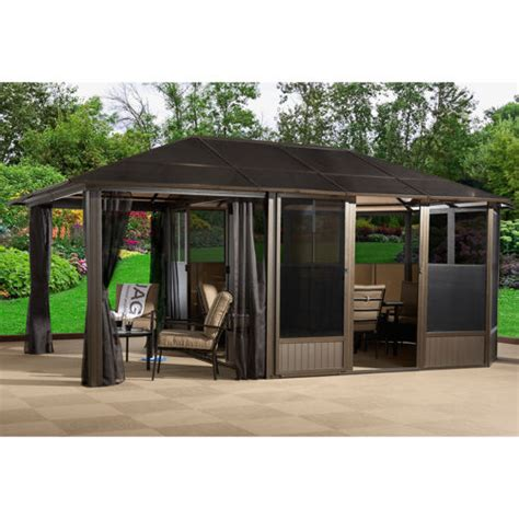 royal hardtop gazebo sunjoy royal hardtop gazebo bloggerluv