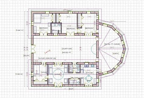 floor plans with courtyards courtyard home designs small house plans with courtyards