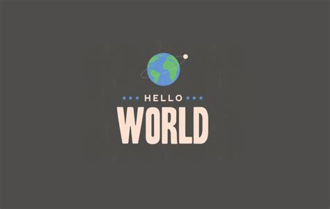 Hello World Cantril Iowa Hello World