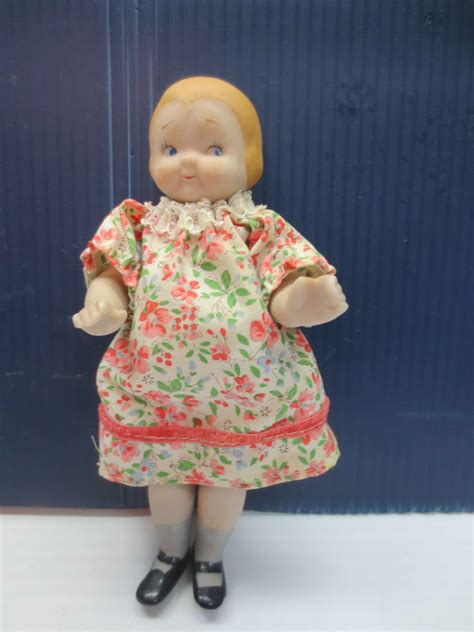 6 inch porcelain dolls vintage 6 inch porcelain bisque baby doll by shackman made in