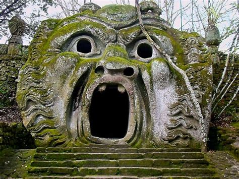 il giardino di bomarzo venerd 204 d italia il parco dei mostri di bomarzo