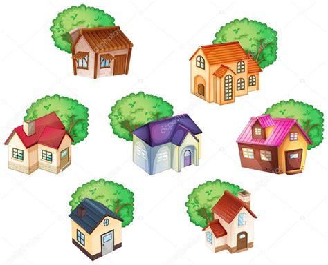 imagenes varias descargar varias casas vector de stock 169 interactimages 14321501