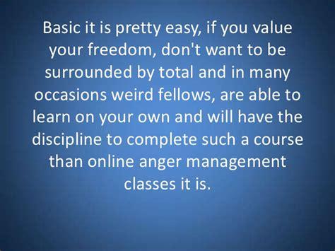anger management class online online anger management classes presentation