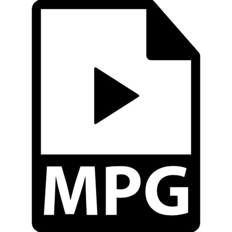 format video mpg mpg file format variant free interface icons