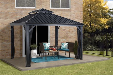 Wand Pavillon Metall by Gazebo Design Outstanding 1 10 X 12 Hardtop Gazebo Best