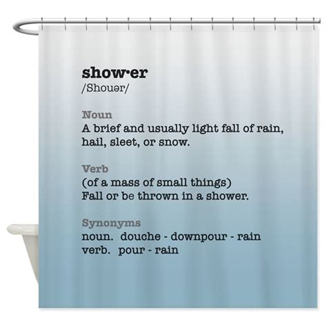 Shower Definition Shower Word Definition Curtain By Poptopia1