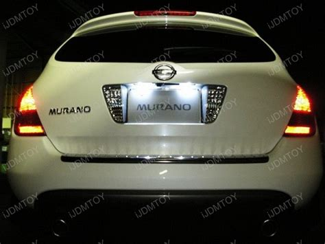 Direct Fit White Led License Plate Light Ls For Nissan