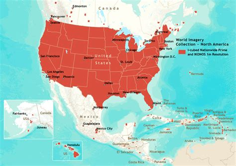 clear map of america map usa and central america maps of usa