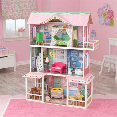 biggest doll houses dollhouse kidkraft girls big doll house and 50 similar items