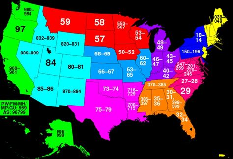 map of usa states zip codes pin by rosemary tapp on 01 the post