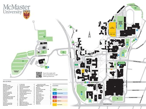 Mcmaster Mba Admission Requirements by Cus Map