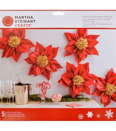 Paper Flowers Martha Stewart - martha stewart crafts tissue paper flower kit