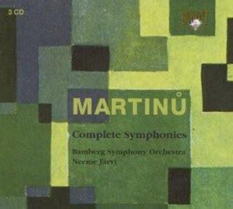 Jacque Martin 3242mc Wh For le deblocnot bohuslav martinů symphonie n 176 3 bryden