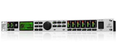 Behringer Loudspeaker Management Processors Ultradrive Dcx2496le behringer ultradrive dcx2496le image 2018276 audiofanzine