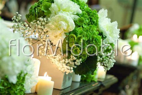 fiori e candele fiori verdi per addobbi floreali matrimonio e bouquet
